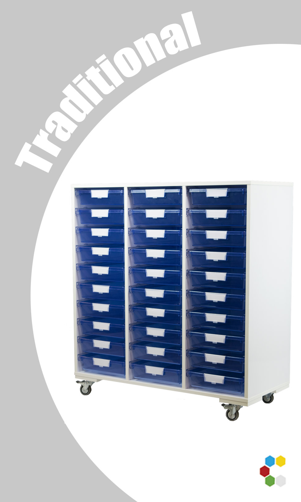 Mobile Storage Systems Wood