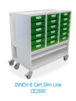 INNOV-8 CE2500 Slim Line Mobile Storage Unit